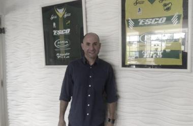 """Lacki: """"La idea es, a partir del 24 de agosto, quedar concentrados en nuestro predio pensando en el primer partido de la Copa Libertadores"""""""