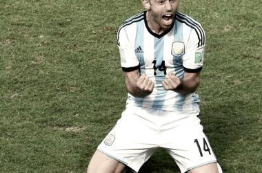Javier Mascherano, un gran referente. Foto: JuanFútbol