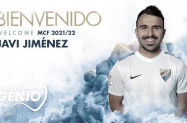 Javi Jiménez, fichado por el Málaga CF. / Foto: Málaga CF.