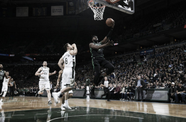 Jaylen Brown está siendo decisivo en estas eliminatorias. |Foto: NBA.com/celtics