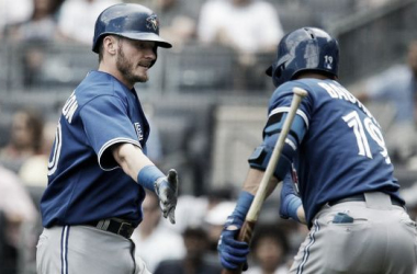 Jose Bautista And Josh Donaldson Homer As Blue Jays Complete Sweep Of Yankees