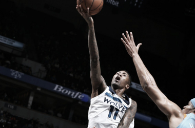 Jamal Crawford, 20 punti contro i Clippers. Fonte: Timberwolves/Twitter