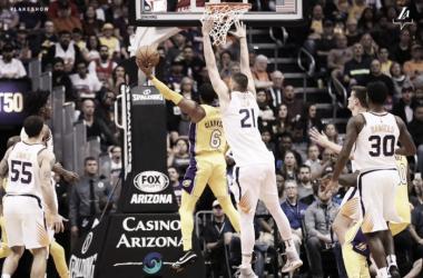 Jordan Clarkson. Fonte: L.A. Lakers/Twitter