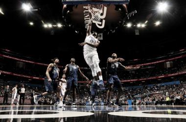 Joel Embiid. Fonte: NBA/Twitter
