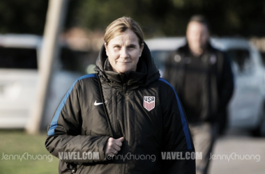 Jill Ellis has named her training camp roster for April | Source: Jenny Chuang - VAVEL USA
