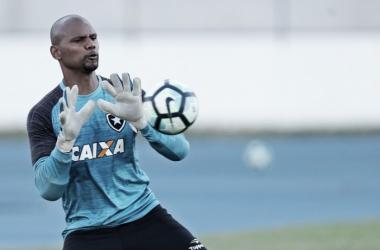 Jefferson deve ficar no banco de reservas nesta segunda, contra o Corinthians (Foto: Vitor Silva/SSPress/Botafogo)