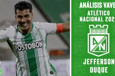 Análisis VAVEL, Atlético Nacional 2020: Jefferson Duque