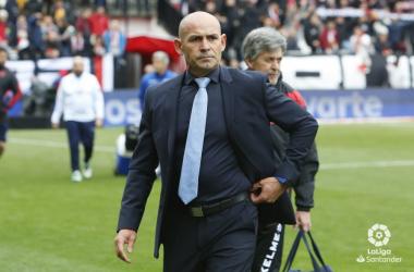 Paco Jémez entrenador del Rayo Vallecano. Fotografía: La liga