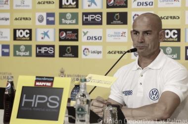 """Paco Jémez: """"Hay jugadores que en tres o cuatro partidos no han tirado a puerta, y eso no lo he visto en mi vida"""""""