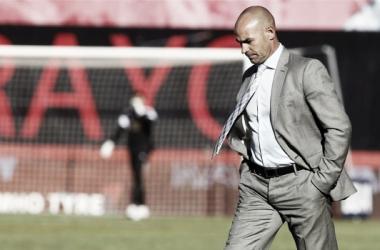 Paco Jémez en Vallecas. Fuente: web Rayo Vallecano.