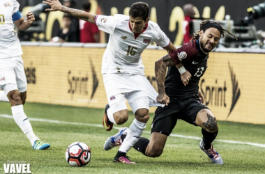 Jermaine Jones had one of his finest ever performances for the Stars and Stripes on Tuesday. (Photo credit: Gary Duncan/VAVEL USA)