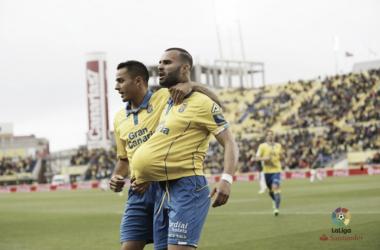 El estreno de Jesé y su primer doblete en Primera División. | Foto: La Liga