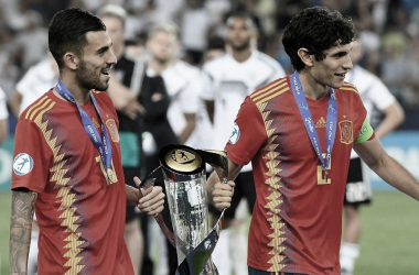 España sub 21 reemplazó a la absoluta ante Lituania en Leganés en un amistoso FIFA | Fotografía: Getty Images/UEFA