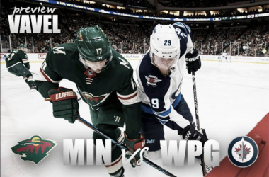 Minnesota Wild vs Winnipeg Jets playoff preview. (Photomontage: Vavel)