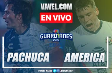 Goles y resumen del Pachuca 1-2 América en Liga MX 2020