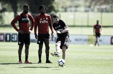 Javi Gracia durante el entrenamiento | Fotografía: Watford.