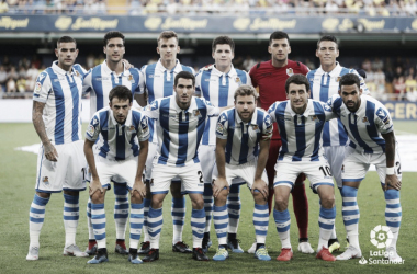 Villarreal 1 vs 2 Real Sociedad: puntuaciones Real Sociedad, 1ª jornada de Liga Santander