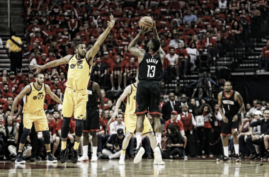 James Harden. Fonte: Houston Rockets/Twitter