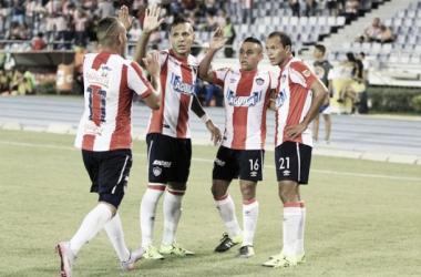 Resultado Junior - Melgar en La Liga Águila II 2015 (5-0)