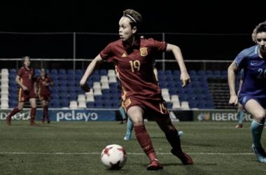 Un Atleti Femenino internacional