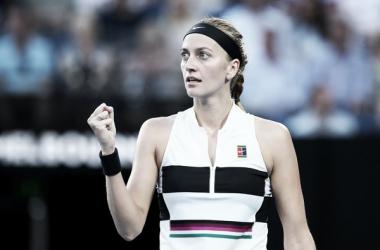 Kvitova no quiere parar