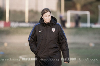 Ellis and the USWNT ready for 2018. | Source: Jenny Chuang - VAVEL USA