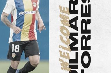Jilmar, cuarto fichaje para el CD Badajoz// Foto: CD Badajoz