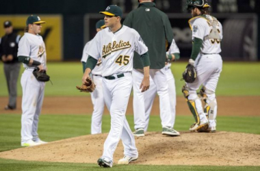 Jim Johnson is more than likelynot going to be in an A's uniform much longer. (Ed Szczepanski, USA Today Sports)