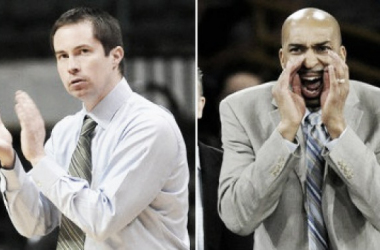 Former Wright State coach Billy Donlon and former Oakland assistant Saddi Washington will fill key vacancies on John Beilein's staff. (Photo Courtesy of Michigan Athletics)