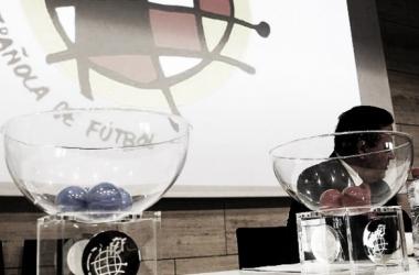Imagen de un sorteo de Copa: Copa del Rey