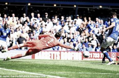 Gol de Jutkiewicz quealeja al Fulham del ascenso. Foto: BPI