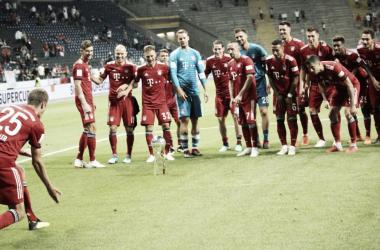 Sin sobresaltos, el Bayern se corono en la Supercopa. Foto:@FCBayern