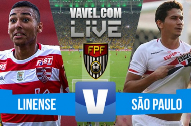 Resultado Linense x São Paulo no Campeonato Paulista 2016 (1-1)