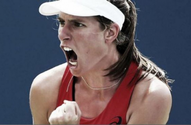Johanna Konta had a year to remember in 2015 (pic from WTA)