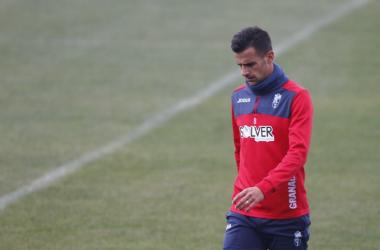 Javi Márquez y Biraghi, ausentes en el entrenamiento