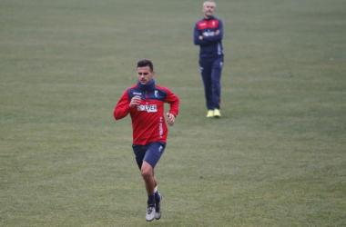 Javi Márquez se reincorpora a los entrenamientos