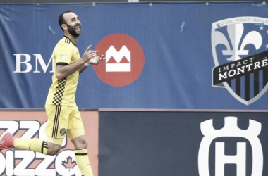Justin Meram pushed Columbus Crew past the Impact this weekend | Source: Jean-Yves Ahern - USA TODAY Sports