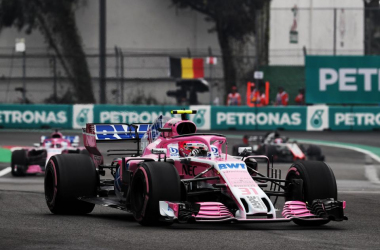 "<div style=""text-align: left;"">Force India en el GP de México 