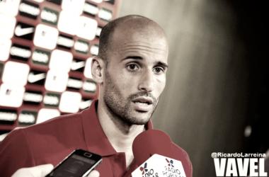 Mikel Rico, ex jugador del Huesca y ahora en el Athletic | Foto: Ricardo Larreina - VAVEL