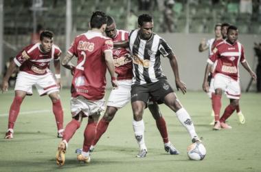 No último encontro entre Atlético e Tombense, o Gavião venceu por 2 a 0 (Foto: Bruno Cantini/Atlético-MG)