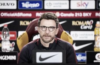 "Di Francesco: ""Dzeko es similar a Ibrahimovic"""
