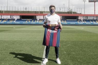 Zeballos, nuevo fichaje para el Barça B
