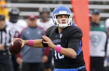 Buffalo's offense will lean heavily on quarterback Joe Licata (Timothy T. Ludwig / USA Today Sports)