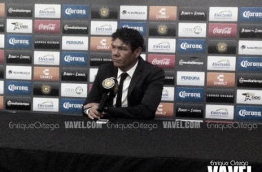 Joel Sánchez poco a poco le comienza a agradar su equipo | Foto: Enrique Ortega / VAVEL