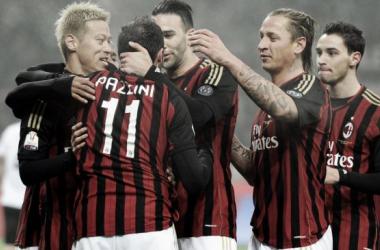 Honda marca e Milan vence Spezia pela Coppa Italia