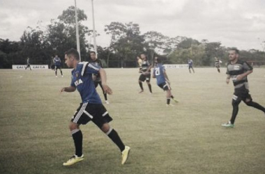 Leoninos fizeram três gols ainda na etapa inicial, com Régis, Alex Silva e Danilo; Samuel marcou o quarto (Foto: Divulgação/Sport)