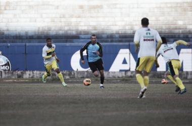 O argentino Barcos tem presença garantida no time titular do Grêmio (foto: Rodrigo Fatturi / Grêmio FBPA)
