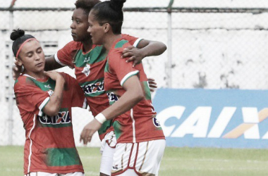 Portuguesa é finalista do Brasileiro Feminino A2 (Foto: Elveson de Freitas/AllSports)