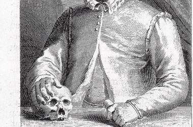 Retrato de Johan Wier, el demonólogo que trató de explicar la histeria brujeril como un truco demoníaco. Fuente: Public Domain