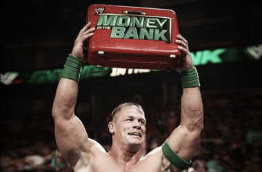 Cena won in his first ever MITB match. Photo- Bleacher Report